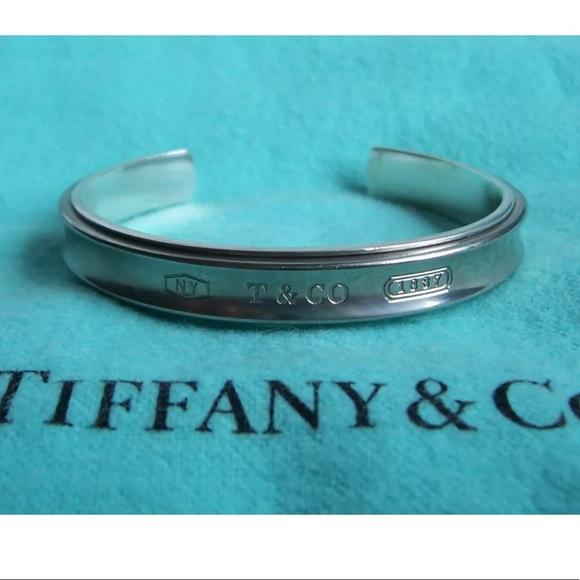 1ee7e56ed Tiffany & Co. Jewelry | Tiffany Co 1837 Sterling Titanium Cuff ...